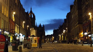 Royal Mile at Blue Hour, winter's night 01 | by byronv2