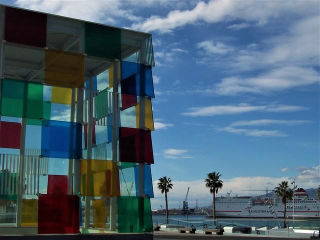 Pompidou Museum, Malaga seafront