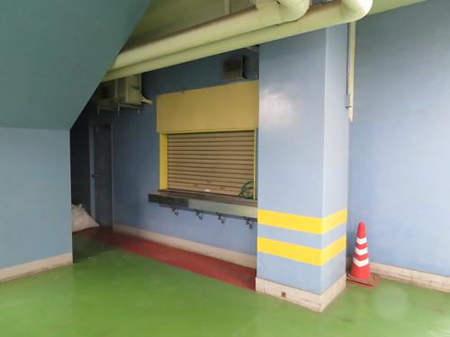 船橋競馬場の4階の何かの跡地