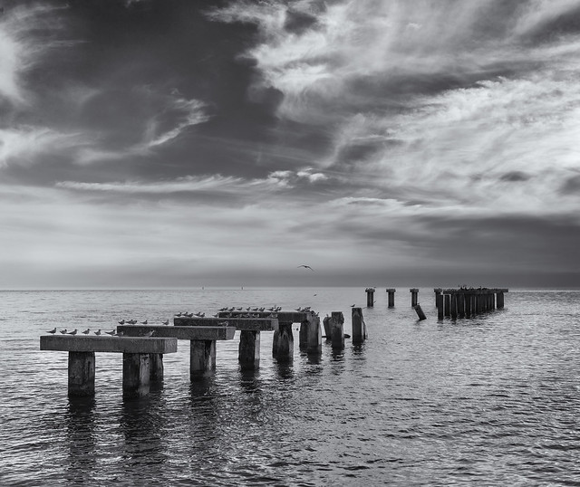 Abandoned pier