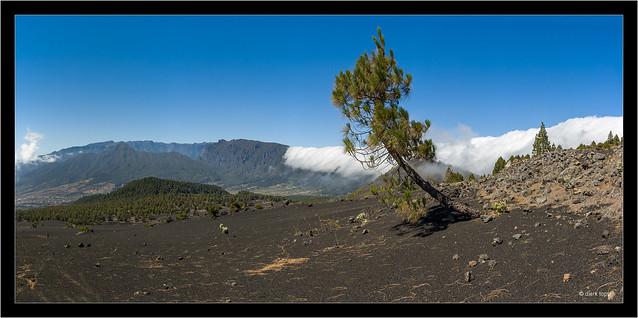 Llano del Jable and Cascada, La Palma, Canary Islands