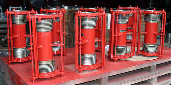 Universal Expansion Joints Designed for Fuel Tank Farm in Saudi Arabia