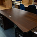 Walnut exec desk E180
