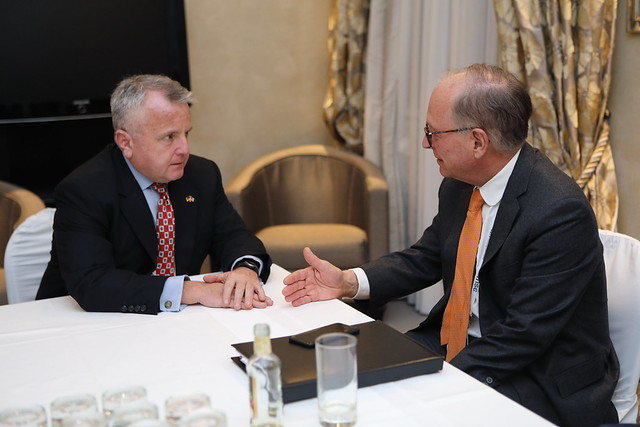 Deputy Secretary Sullivan Meets With Wolfgang Ischinger Chairman of the Munich Security Conference