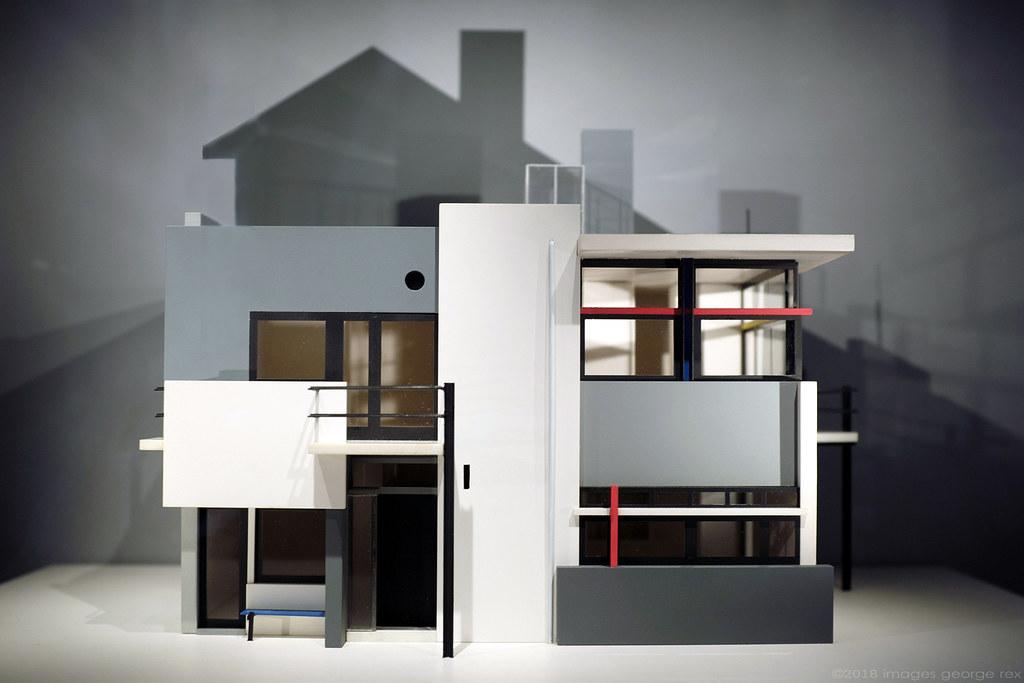 Rietveld Schröder House model Rietveld Schröder House