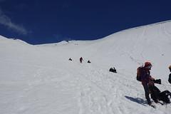 Descending Villarica the easy way