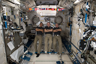 Expedition 53 Crew Members in the Kibo Lab Module | by NASA Johnson