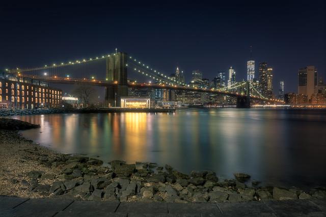 Brooklyn Bridge to Downtown NYC
