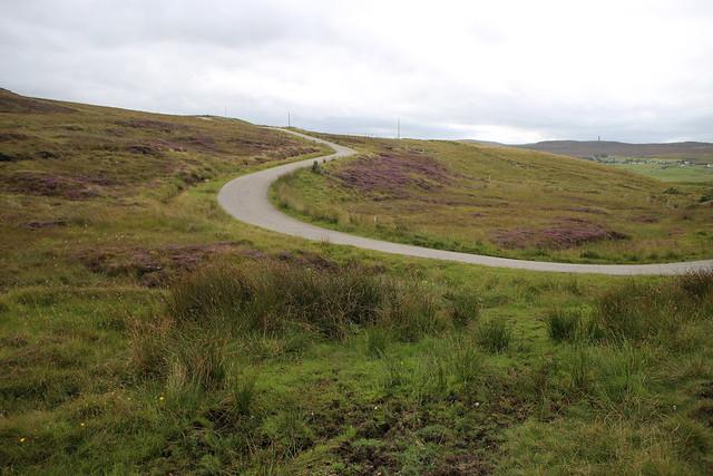 The road to Cnoc Seonaid