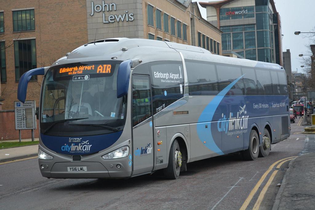 East Coast Motors >> Ys16 Lml West Coast Motors Scottish Citylink Air Scania Ir