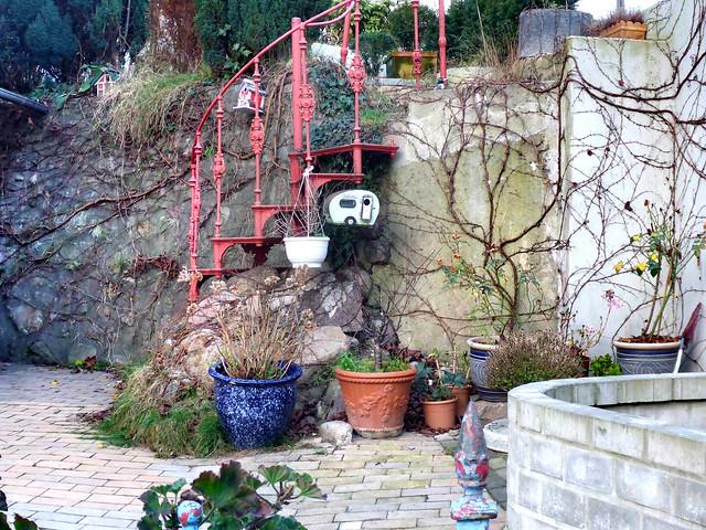 2015-12-25 19 HH Blankenese, ambitionierter Garten