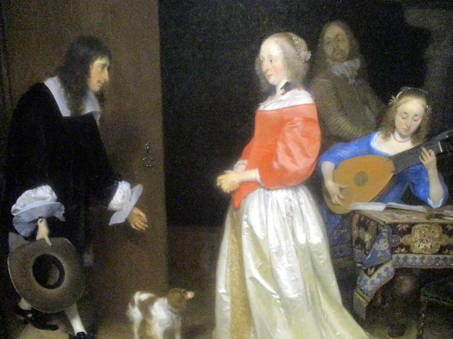 Detail of The Suitor's Visit