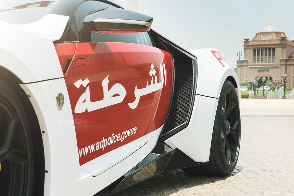 Abu Dhabi Police - Lykan Hypersport (Official Press)