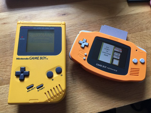 Old yellow and new old orange