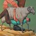 """""""Odysseus escape from Polyphemus"""" mural in Catania. Sicily. Detail. by AEC INTERESNI KAZKI"""