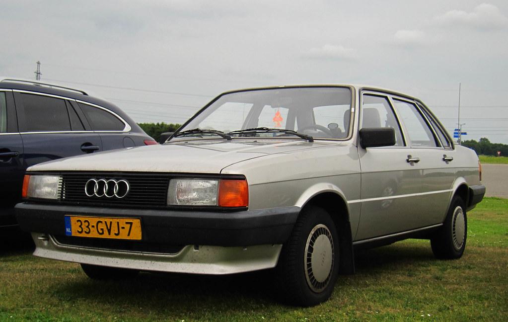1985 Audi 80 CC 1.6 Diesel Automatic (B2) | Place: Assen ...