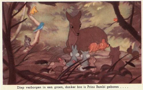 European Film Star Postcards: Bambi (1942)