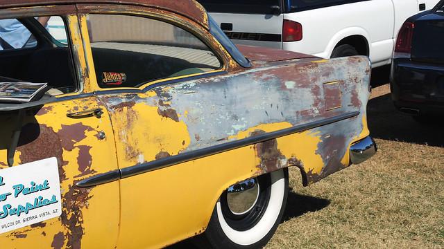 1955 Chevy rear