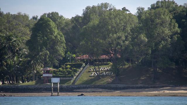 St John's Island's living lagoon