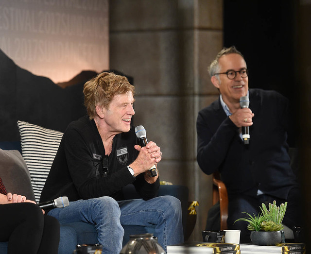 Day One Press Conference - Robert Redford and John Cooper