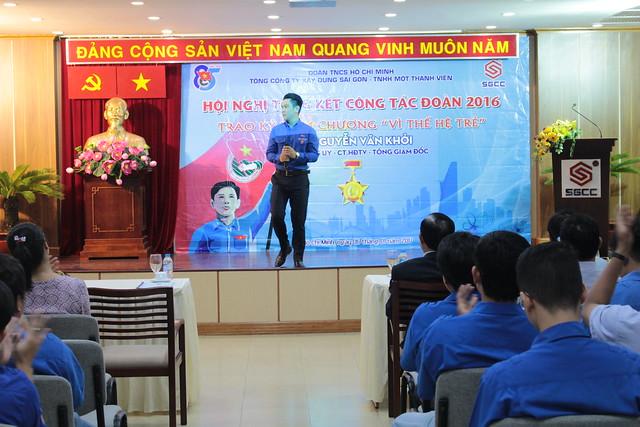 Hội nghị tổng kết công tác Đoàn thanh niên Tổng Công ty năm 2016