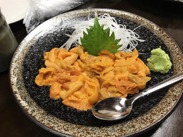 Sea Urchin Bowl, Hokkaido Food
