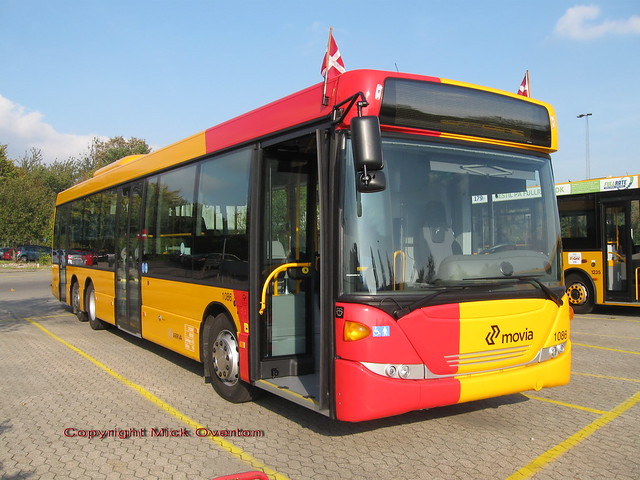 Brand new unregistered ARRIVA Scania Omnilink 1086 as used for press launch of this 6A contract batch