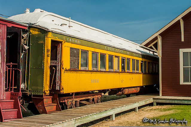 C&NW 1886 | Day Coach | Douglas Railroad Interpretive Center