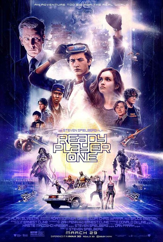 Ready Player One - New Official Poster