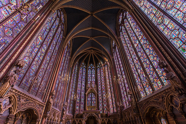 Churches of Paris: Sainte-Chapelle