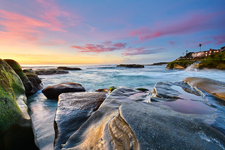 Windansea at Sunset: 2/2/18 no.2 | by tltichy