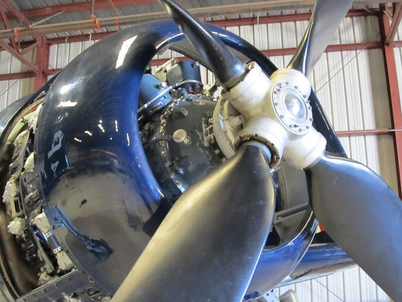 Grumman F8F-2 Bearcat 2