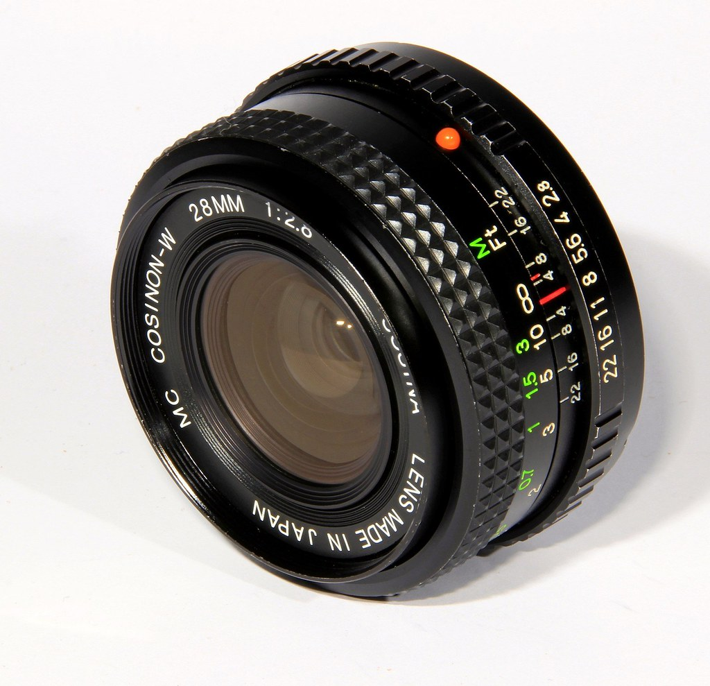 Cosina Cosinon 28mm f2 8 W  Made in Japan | C A  Collections