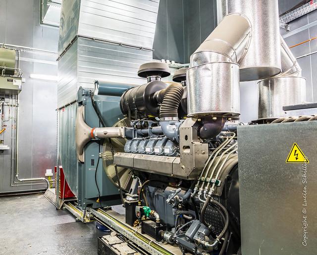 Emergency diesel engine
