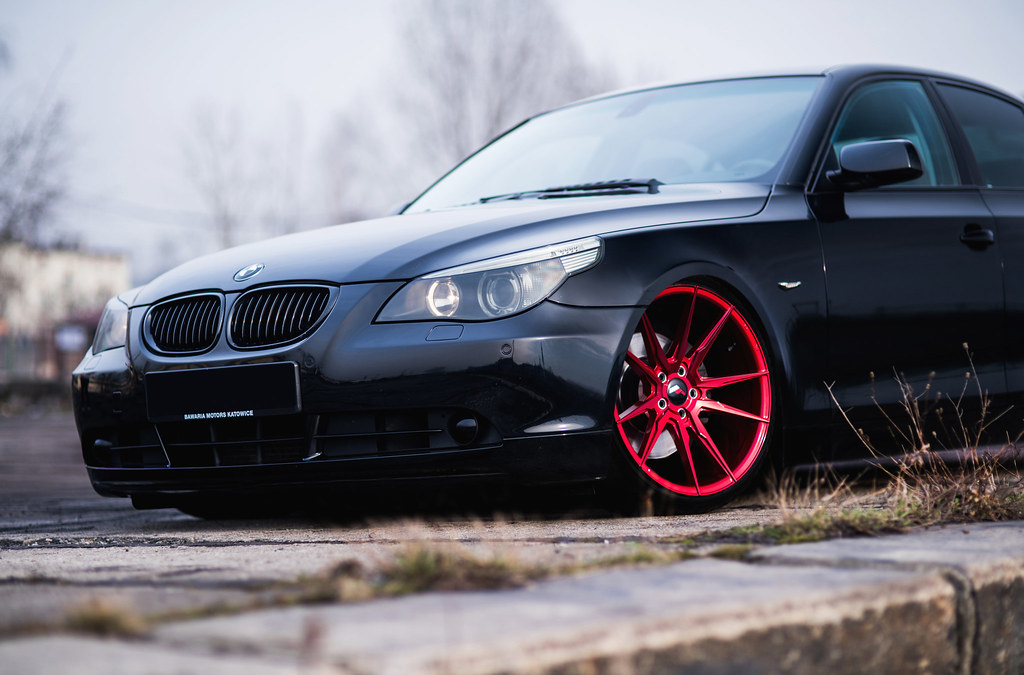 Bmw E60 Jr21 Candy Red A Photo On Flickriver