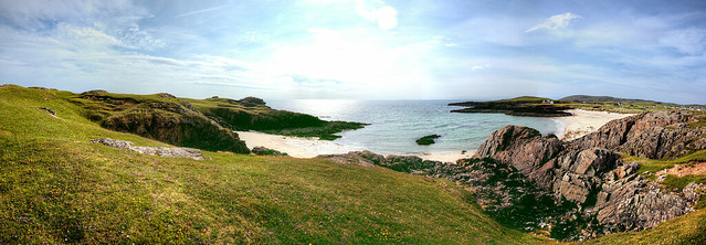 Clachtoll Cove Panorama