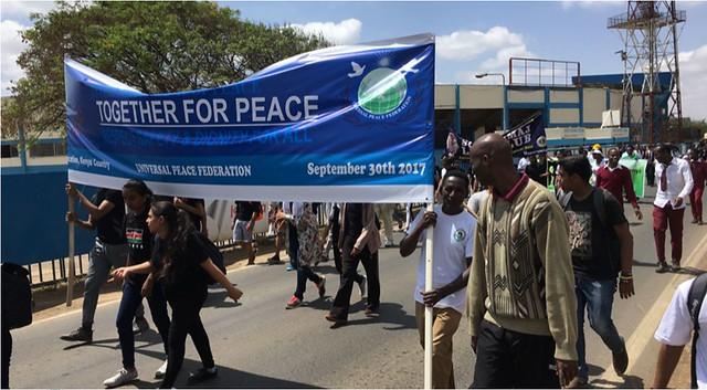 Kenya-2017-09-30-International Day of Peace and Peace Road 2017 - Kenya