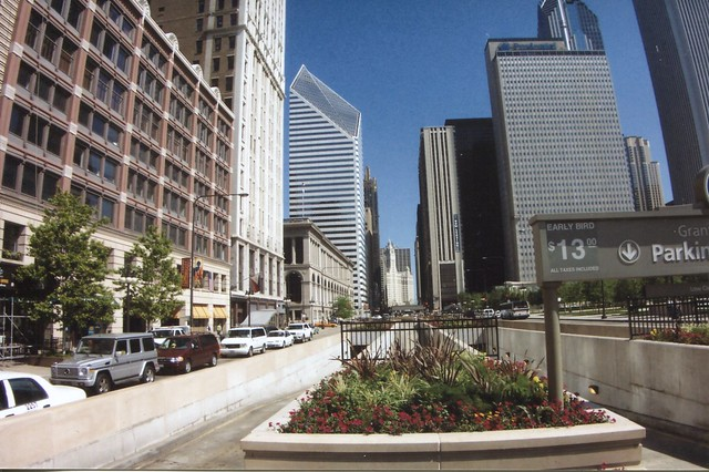 Chicago Illinois - South Michigan Avenue - Loop Historic District