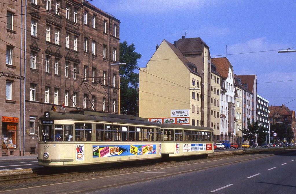 Nürnberg äußere Bayreuther Straße