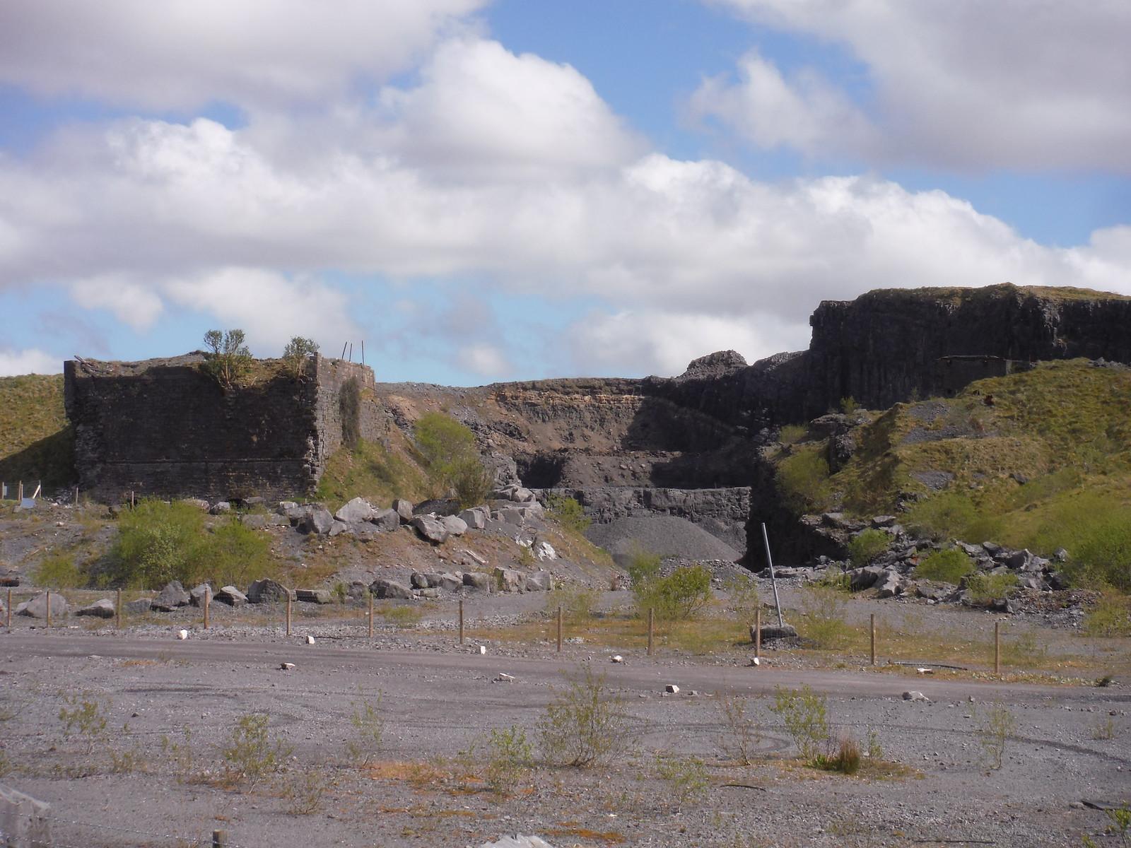 Penwyllt Quarry SWC Walk 307 - Fforest Fawr Traverse (Craig y Nos to Llwyn-y-celyn)