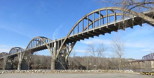 arkansas ar whiteriver landscapes baxtercounty cotter arkansasozarks ozarkmountains northamerica unitedstates us bridges