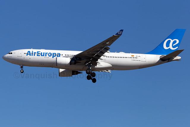 EC-JZL Air Europa A330-200 Madrid Barajas Airport