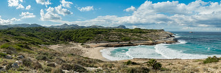 Most beautiful beach of Mallorca Cala Mitjana | by dronepicr
