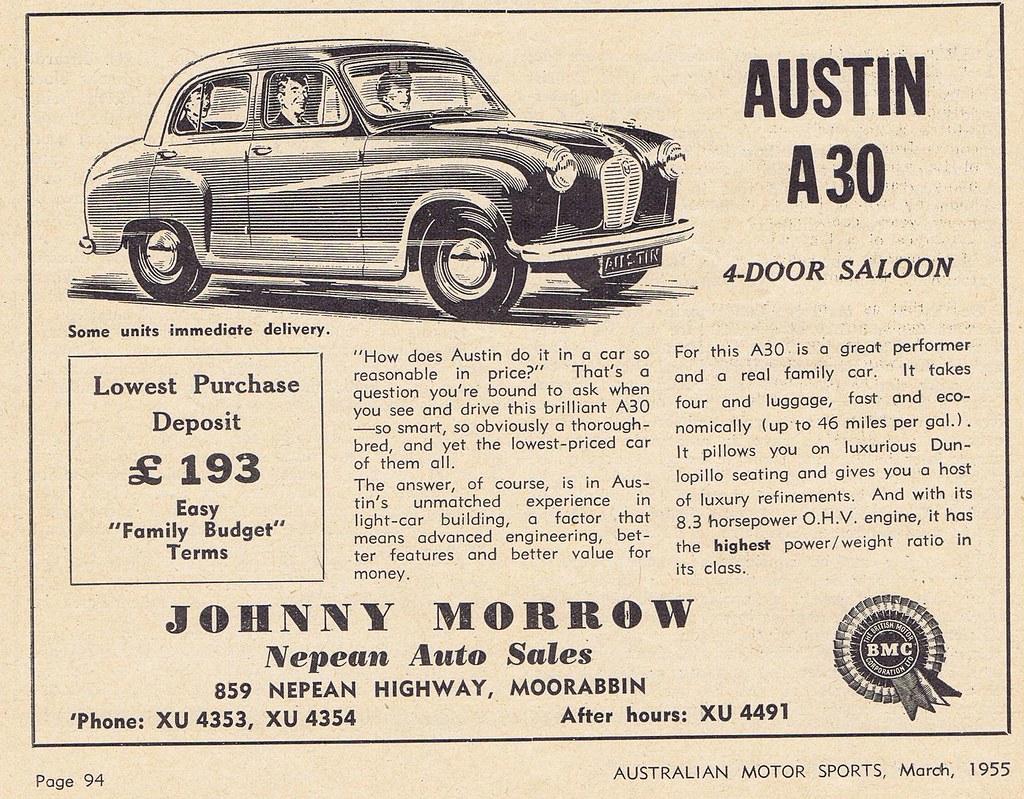 Austin A30 1955 | Geoff Nowak | Flickr