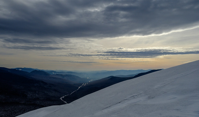 A view south from Cannon Mountain, New Hampshire