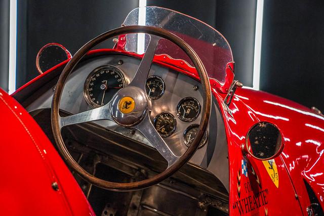 500 F2 cockpit view