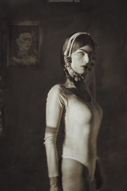 CRISIS: a 52 Week Self-portrait Project│Birthday Self-portrait With Frida  (1/52)