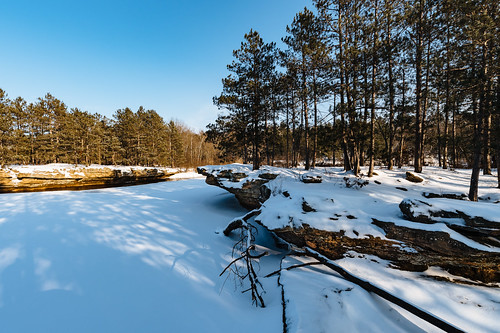 banningstatepark january januaryinminnesota kettleriver minnesota frozen frozenriver goldenhour ice river sandstone snow sunset winter winterinminnesota unitedstates us