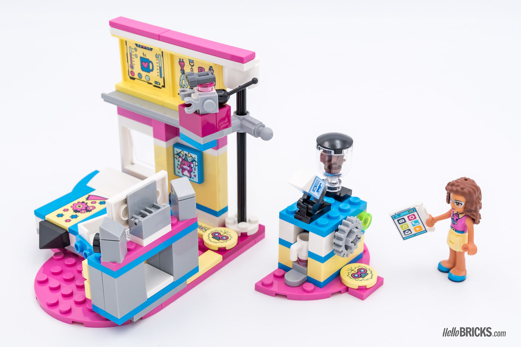 Review Lego Friends 2018 Lego 41329 Olivias Deluxe Bedr Flickr