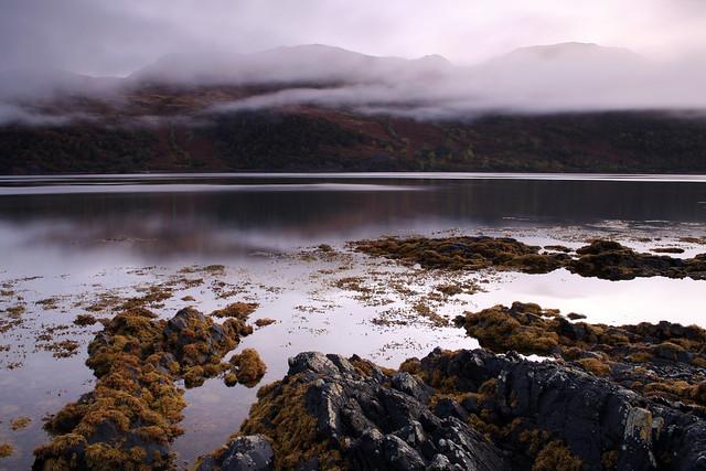 Dawn on the loch